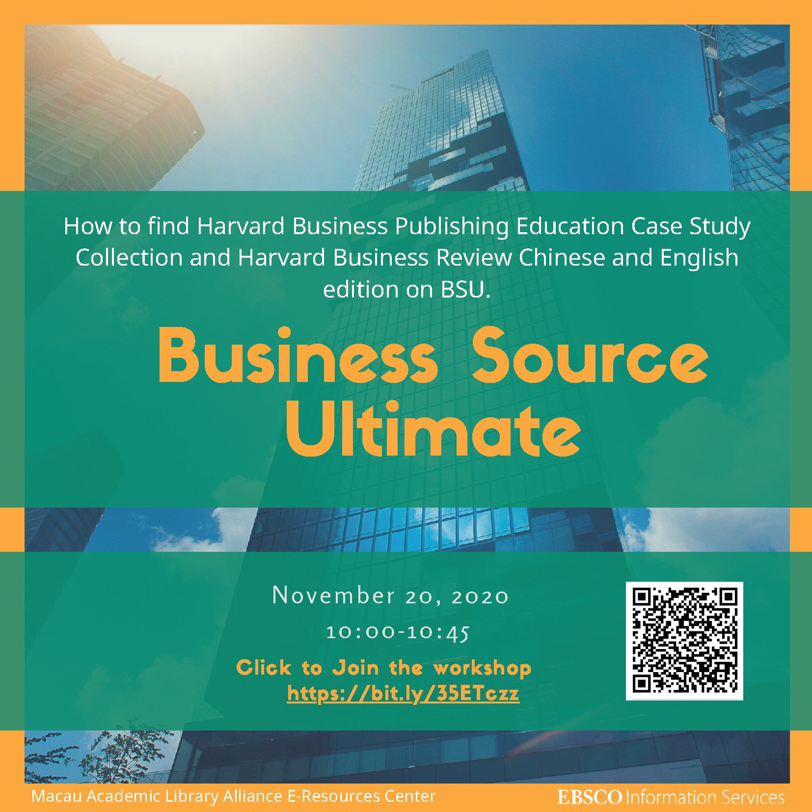 EBSCO Databases Online Training Sessions - Business Source Ultimate (English Session)
