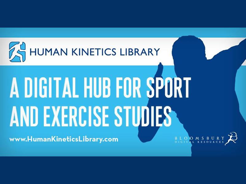新增試用電子資料庫: Human Kinetics Library