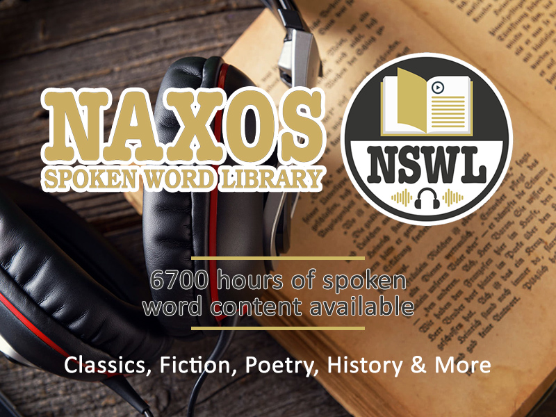 Database-of-the-Month:-Naxos-Spoken-Word-Library