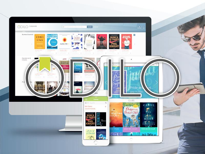 新增試用電子書平台: ODILO University