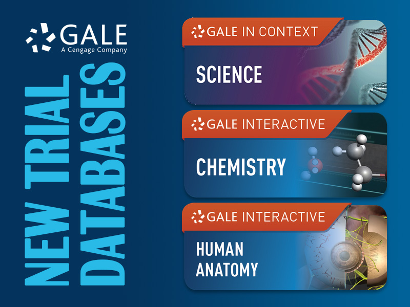 New Trial Databases from Gale