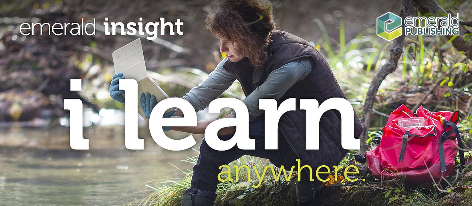Emerald Insight: I Learn Anywhere